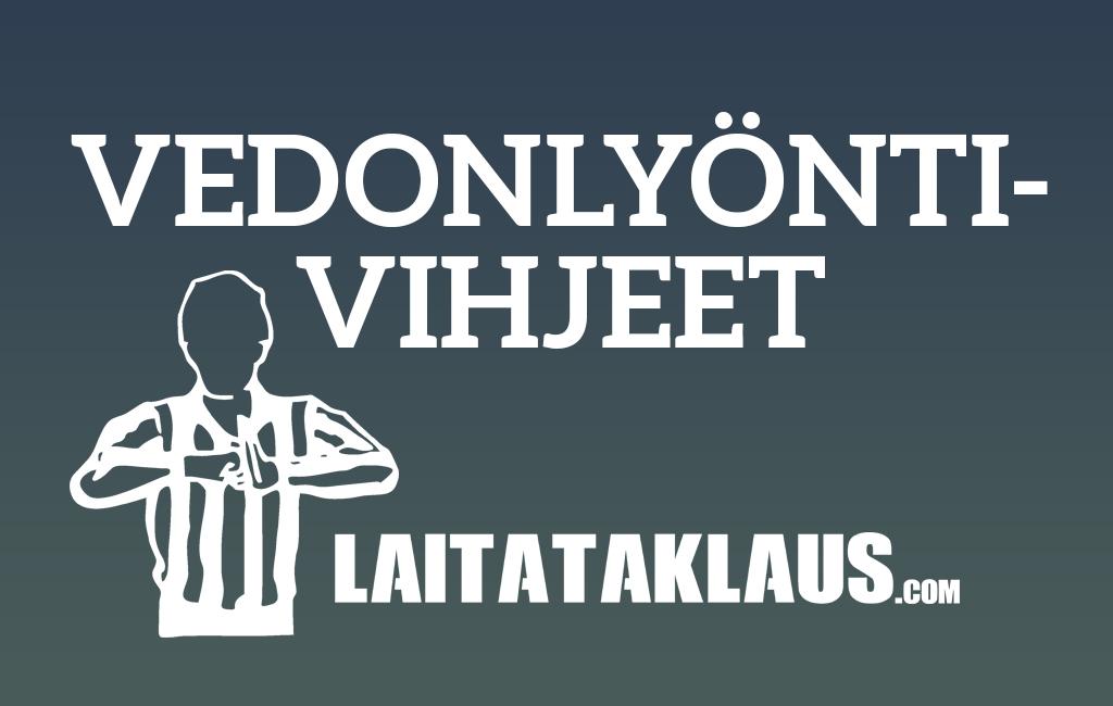 Vedonlyöntivihjeet, vetovihjeet, Laitataklaus.com