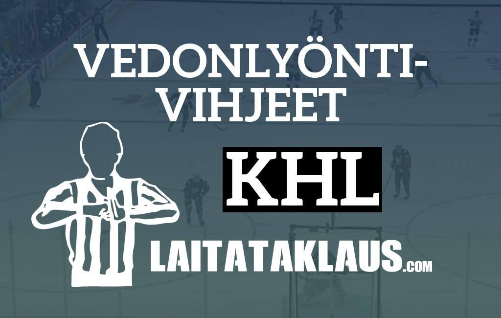 vedonlyöntivihjeet-khl Jokerit / Laitataklaus.com