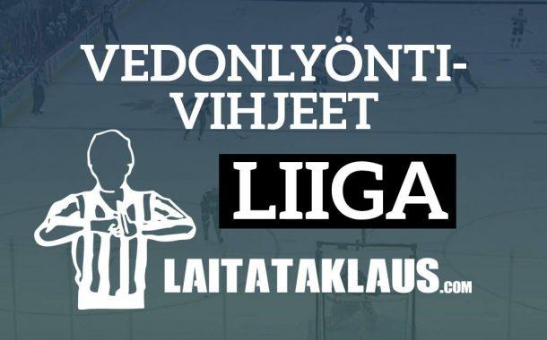 Liiga-vihjeet: Kärpät-Sport & TPS-Tappara