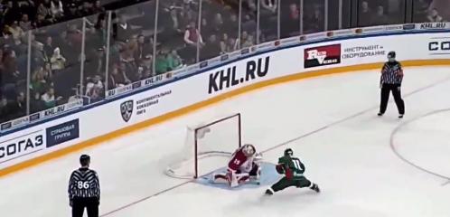 Video: KHL:ssä nähtiin näyttävä rankkarimaali – suomalaisveskari Säteri täysin