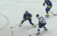 Video: Patrik Laine vei Erik Karlssonin täysin kahville