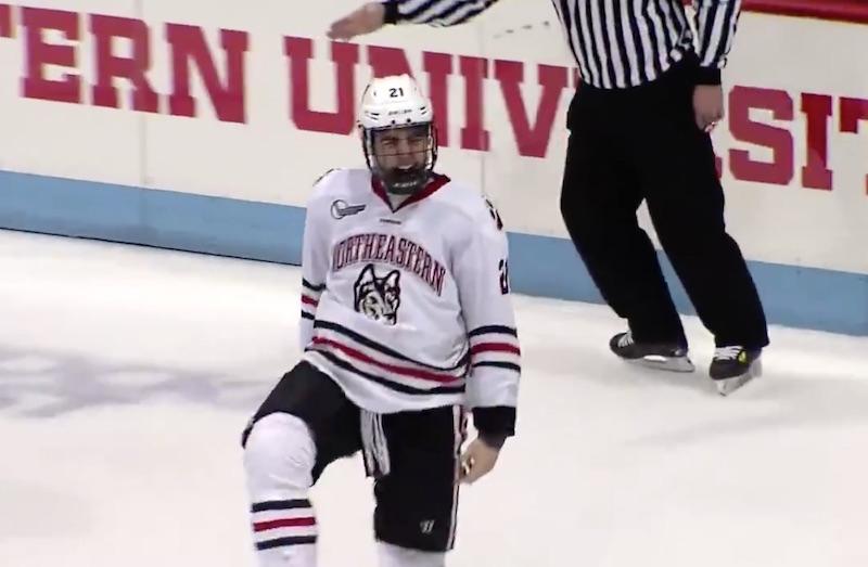 Video: NHL-varaus painoi syksyn tyylikkäimmän osuman – tuulimylly-harhautuksella pakki täysin pakettiin