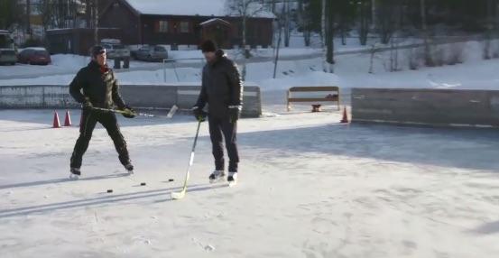 Video: Peter Forsberg näyttää mallia yhden käden rystystä