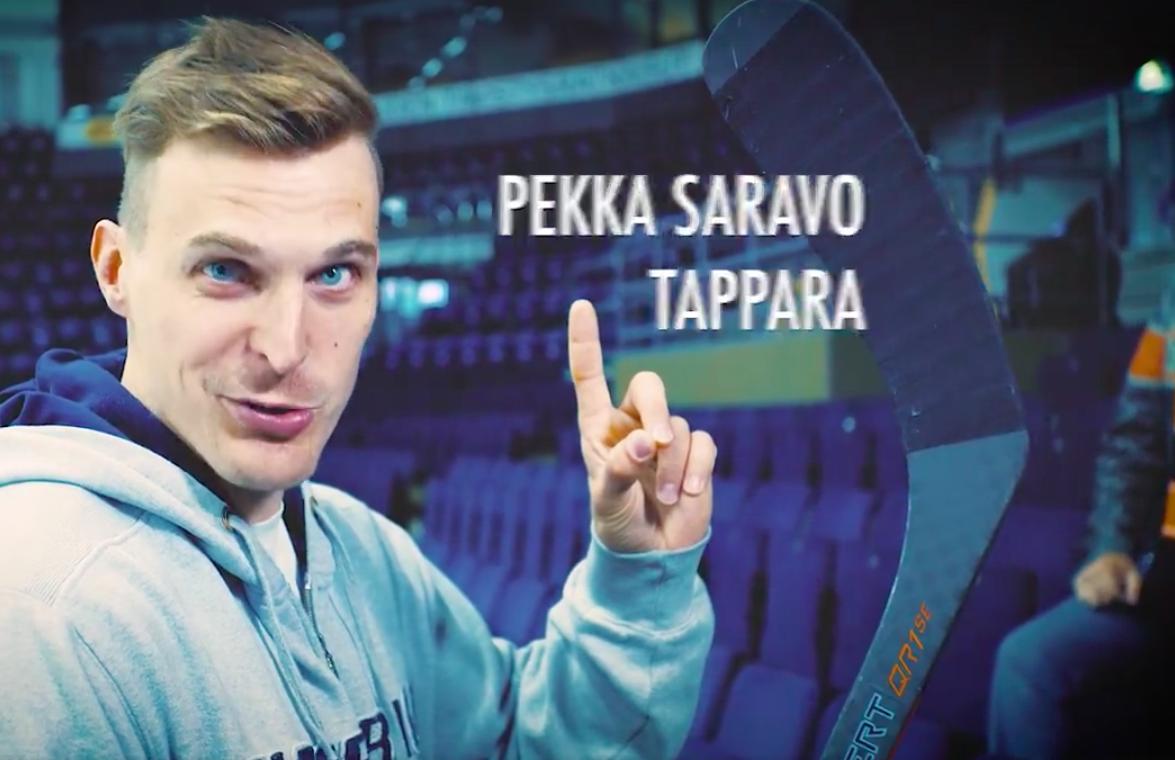 Video: Hakametsän kapellimestari Saravo Liigapörssin hauskassa videossa | Laitataklaus.com