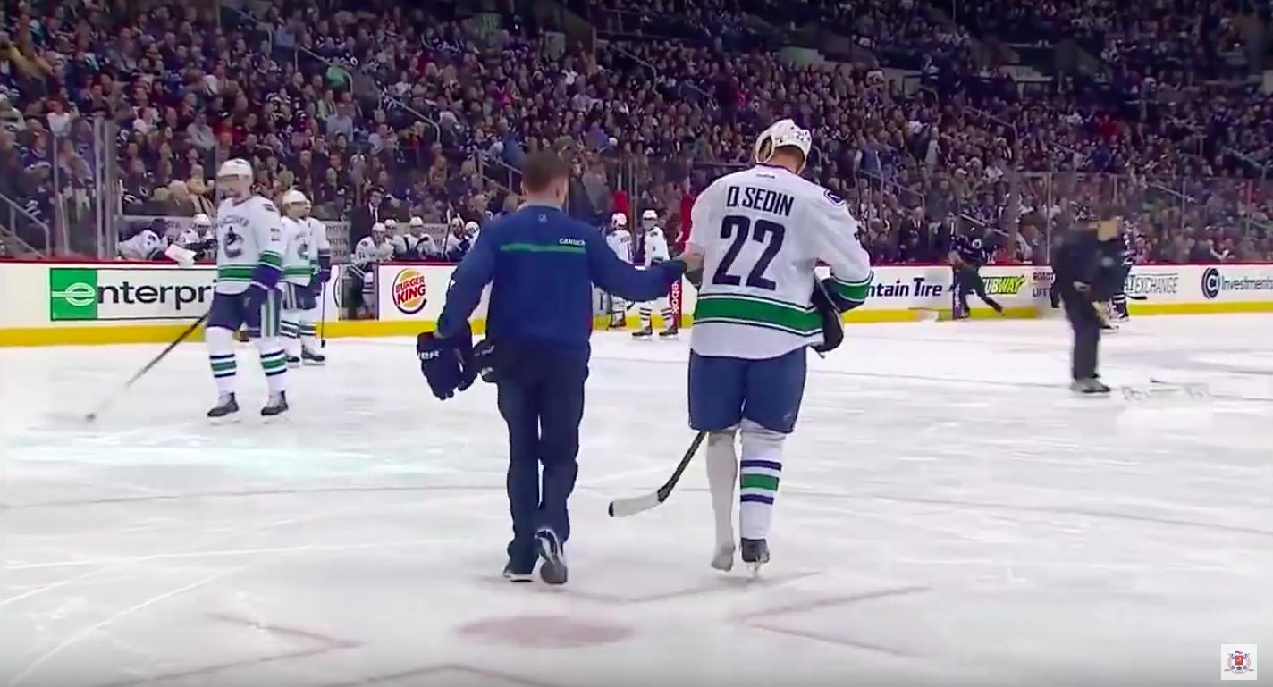 Video: Kohtuullista sekoilua NHL-kaukaloissa | Laitataklaus.com