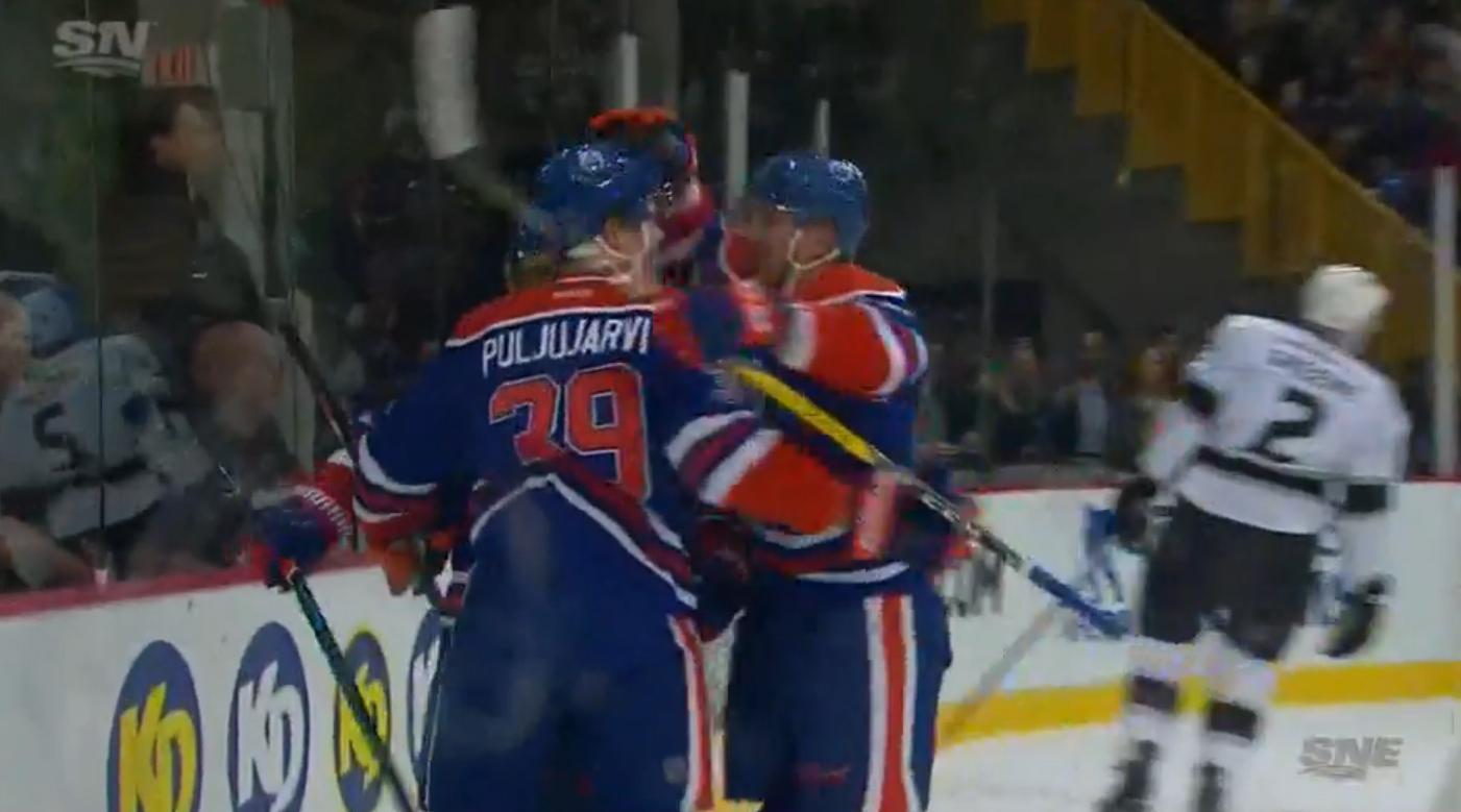 Video: Jesse Puljujärvi avasi maalihanansa NHL-jäillä | Laitataklaus.com