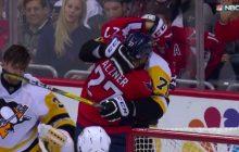 Video: Penguins-vahti Murray ilman kypärää - Malkin löi mailalla suoraan kasvoihin