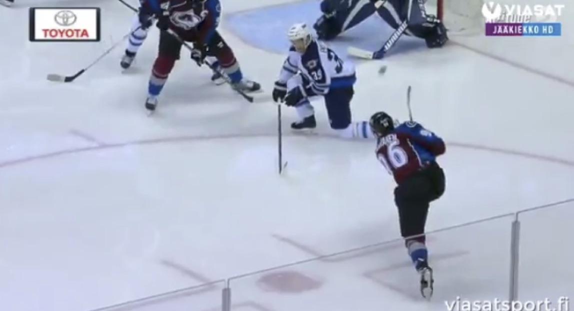 Mikko Rantaselle NHL-uran avausmaali