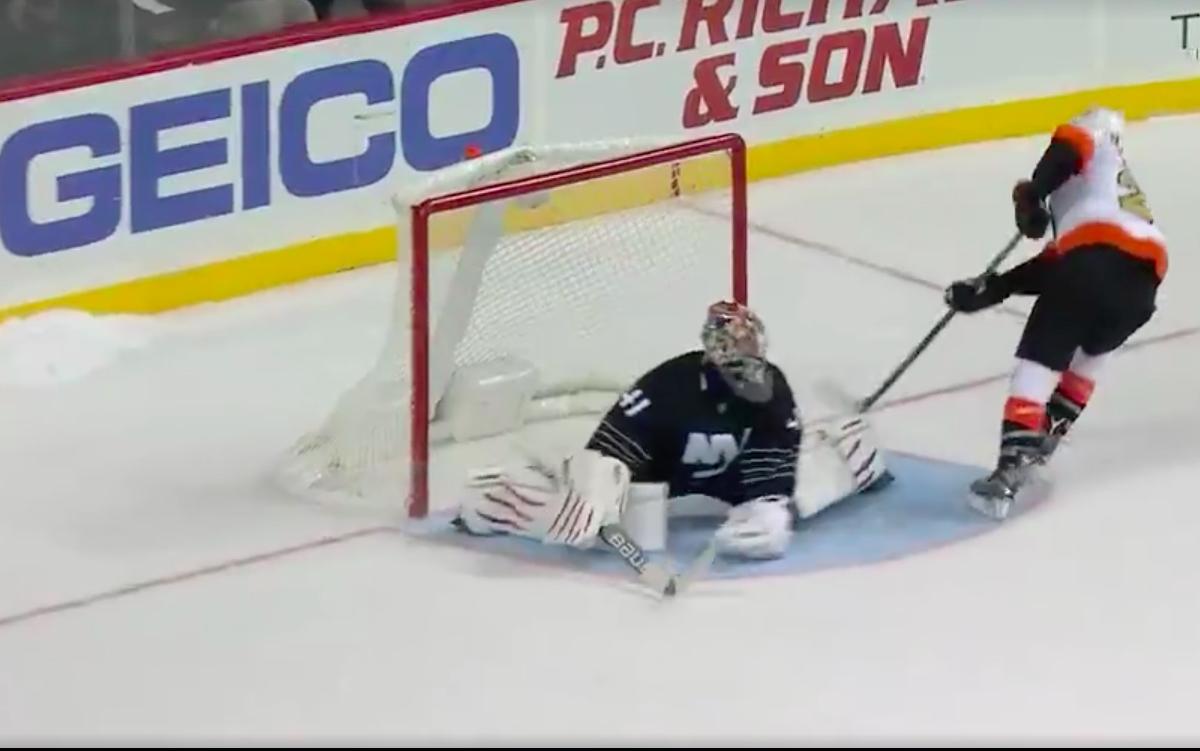 Video: Claude Giroux auttoi Flyersin voittoon taiturimaisella rankkarillaan | Laitataklaus.com