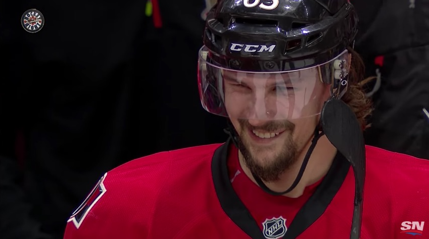 Erik Karlsson Ottawa NHL / Laitataklaus.com