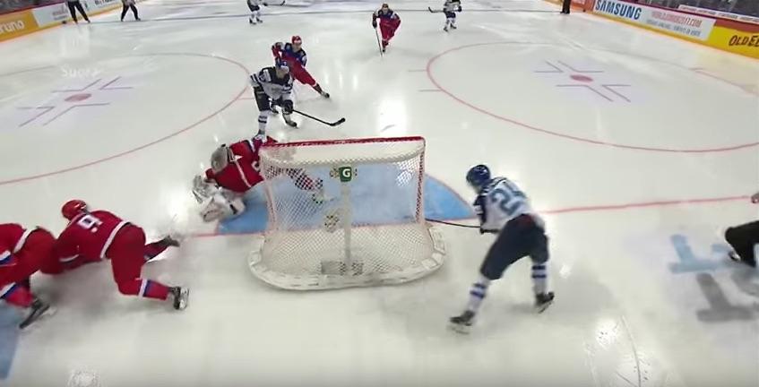 Kasperi Kapanen ratkaisee maailmanmestaruuden Suomelle