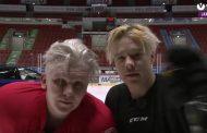 Video: Arttu Lindeman ja Ville Galle taitokisassa