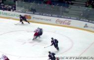 Video: KHL:ssä nähtiin kuvottava taklaus suoraan päähän