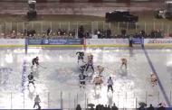 Video: AHL:n talviklassikossa kaatosade - kaukalo täynnä vettä