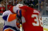 Video: Jussi Jokiselle uran ensimmäinen tappelu NHL:ssä