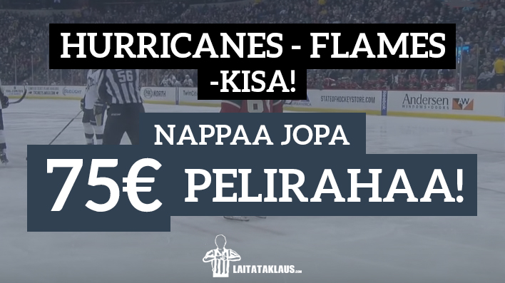 Hurricanes-Flames kisa - laitataklaus