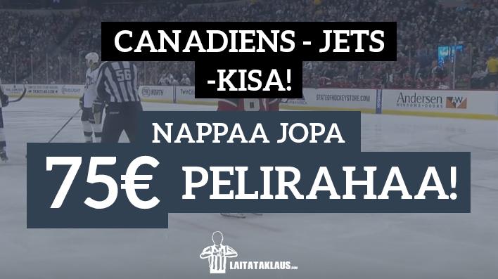 canadiens-jets kisa - laitataklaus