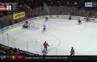 Video: Colorado-puolustaja ajoi oman veskarinsa - Anaheimin Rakell jäähylle