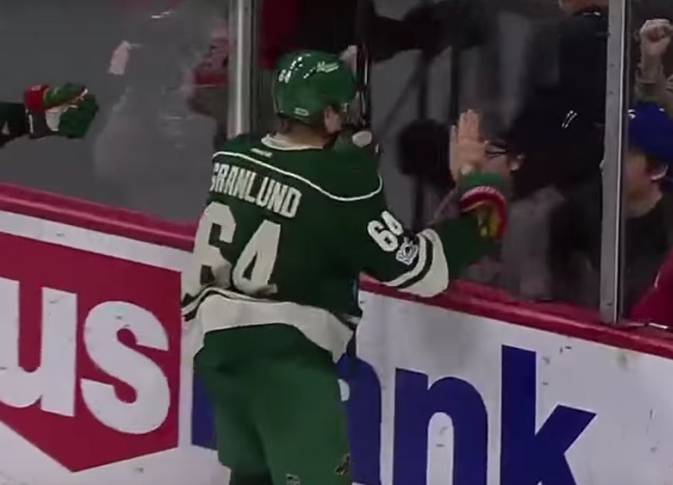 Mikael Granlund Minnesota NHL / Laitataklaus.com
