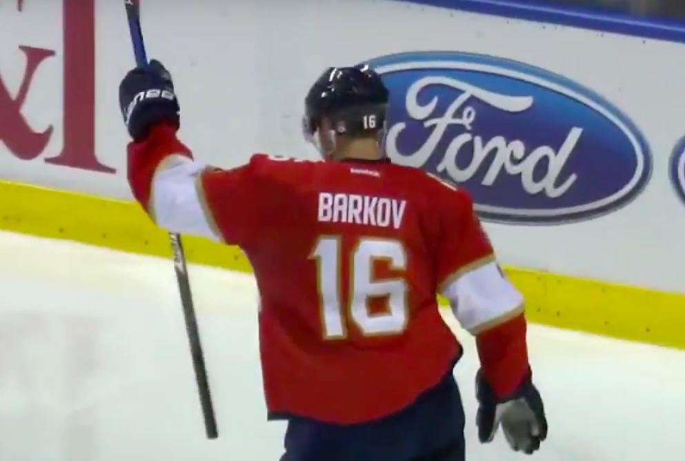 Video: Sasha Barkov maalasi - Edmonton vei kuitenkin pisteet | Laitataklaus.com