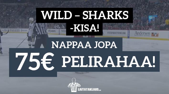 Wild Sharks kisa - laitataklaus