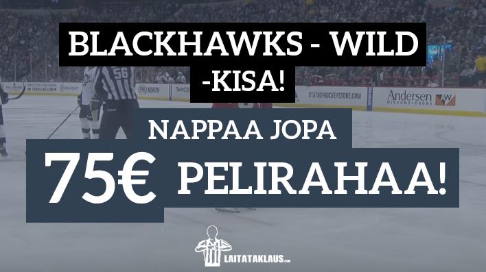 blackhawks - wild kisa