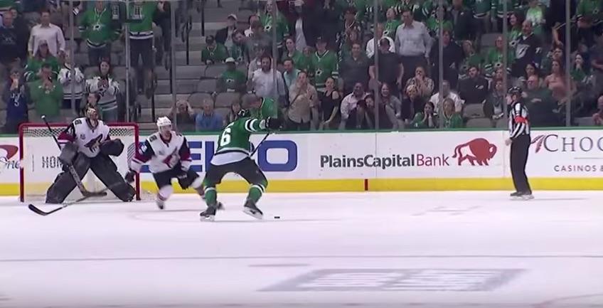 Video: Julius Honka iski uransa ensimmäisen NHL-maalin tyylillä – upea lämäri jatkoajalla