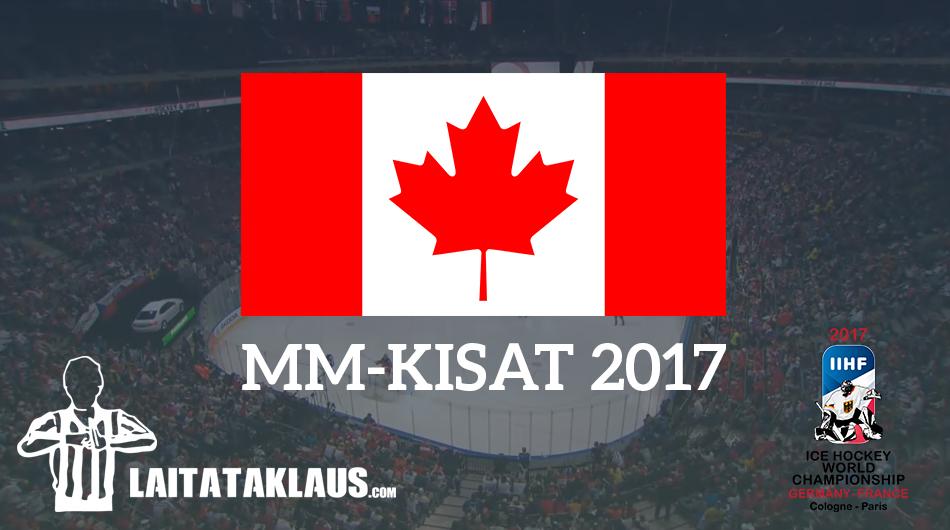 tyson Barrie Kanada MM-kisat 2017 - Laitataklaus