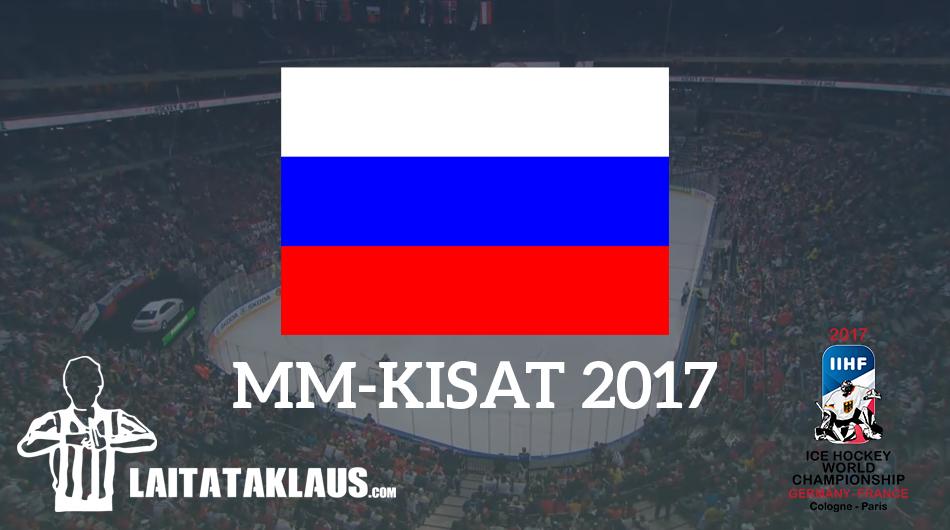 Venäjä MM-kisat 2017 - Laitataklaus