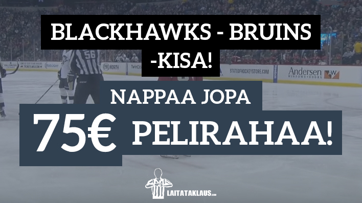 blackhawks - bruins