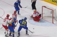 Video: Nylander ja Bäckström juonivat todella kauniin osuman MM-kisoissa