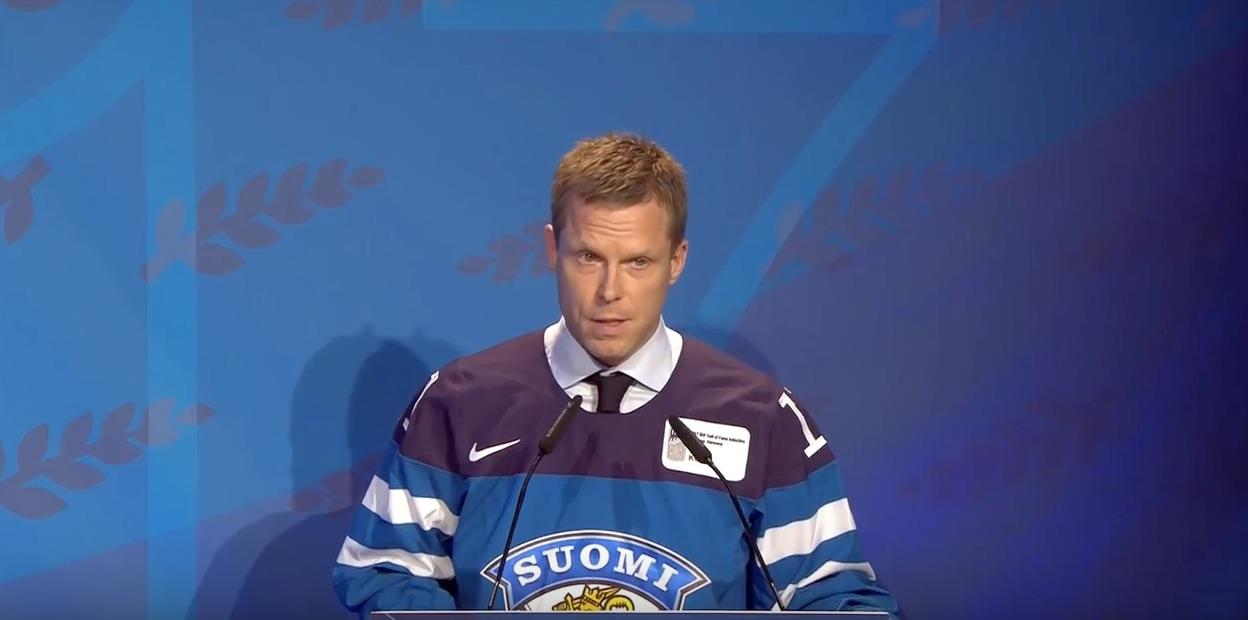Saku Koivu IIHF Hall of Fame / Laitataklaus.com