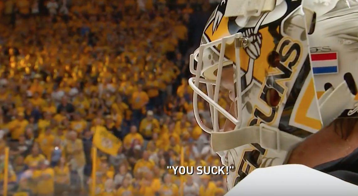 Matt Murray Nashville Predators NHL / Laitataklaus.com