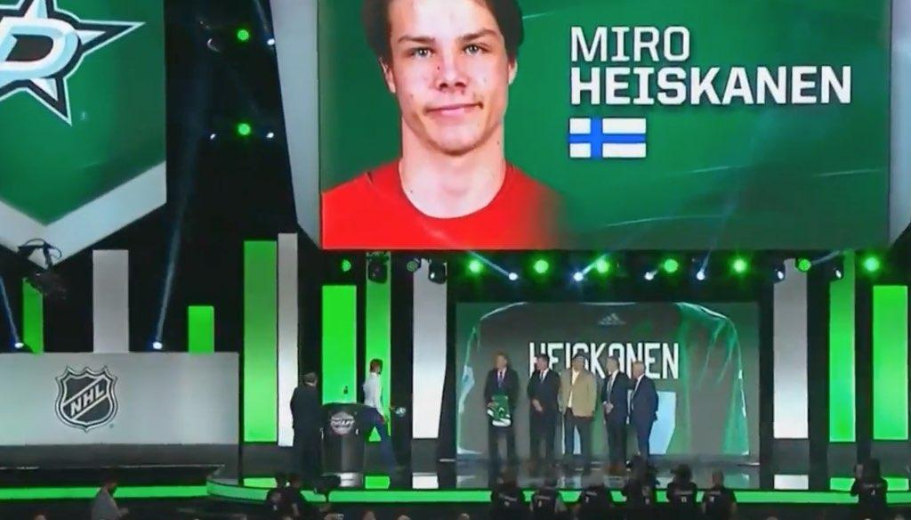 Miro Heiskanen NHL Dallas / Laitataklaus.com