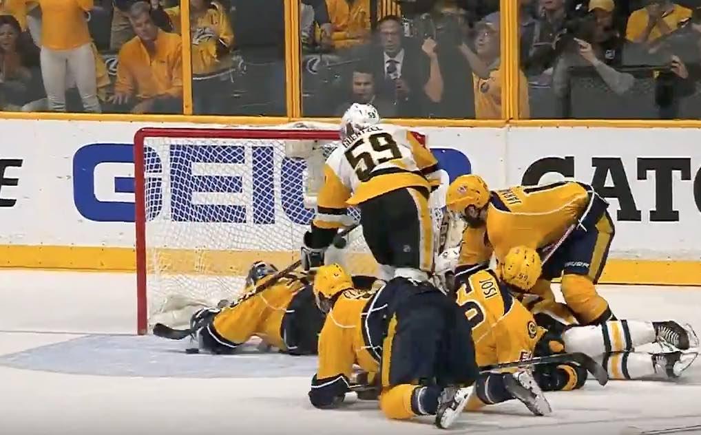 Pekka Rinne Nashville NHL / Laitataklaus.com
