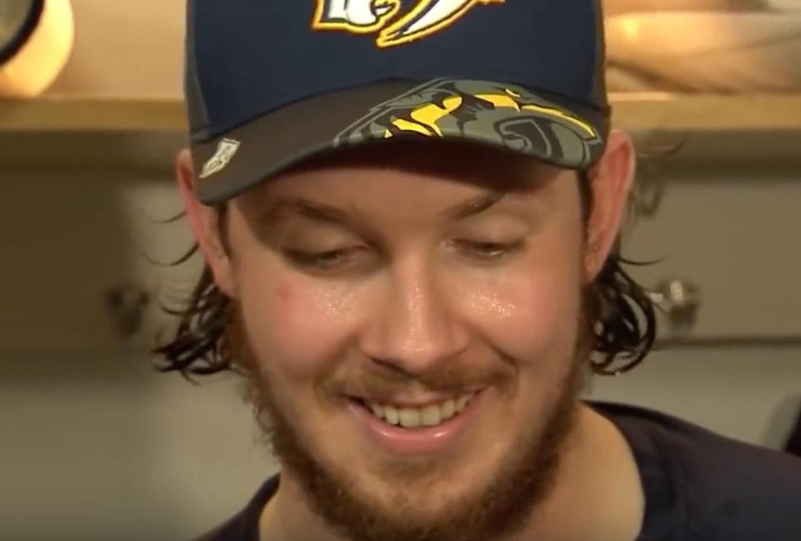 Ryan Johansen Nashville NHL / Laitataklaus.com