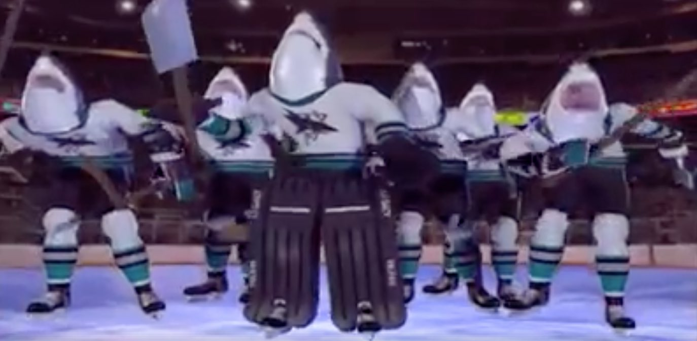 San Jose SHarks intro NHL / Laitataklaus.com