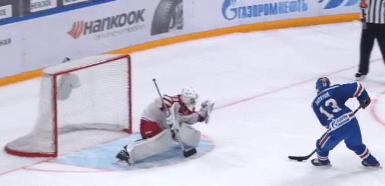 Video: Pavel Datsyuk teki sen taas - uskomattoman vaivaton rankkari sisään