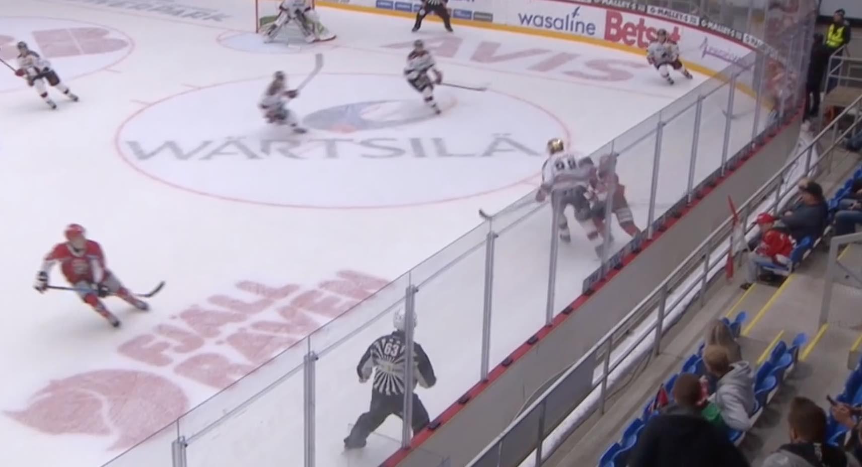 Antoine Laganiere Ässät / Laitataklaus.com