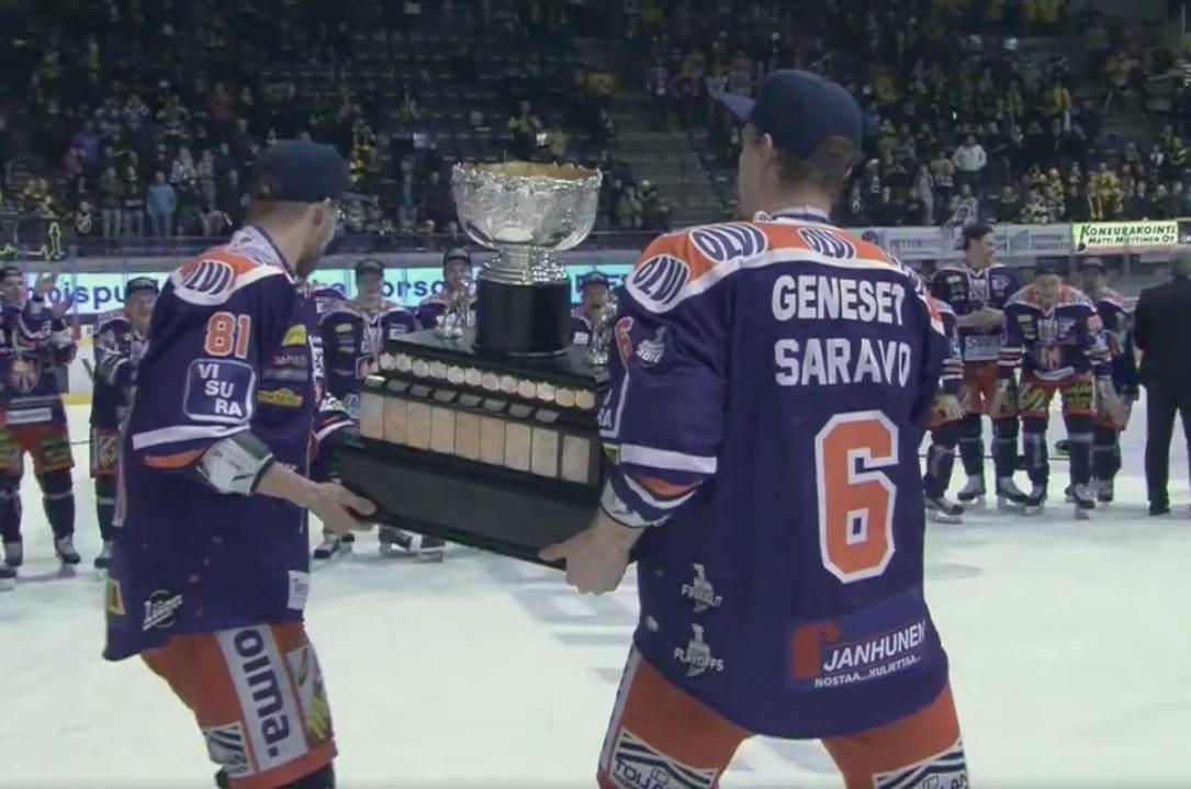 Video: Tapparalta hieno video Pekka Saravon upeasta urasta