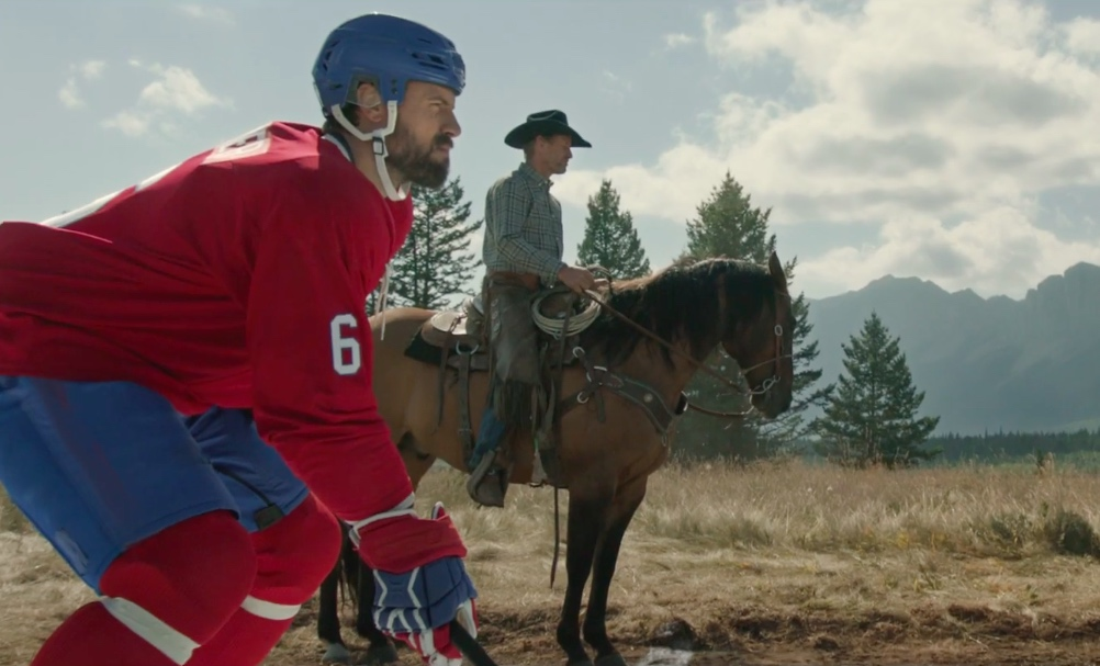 Video: Shea Weber päihitti lännenhevosen nopeuskilpailussa