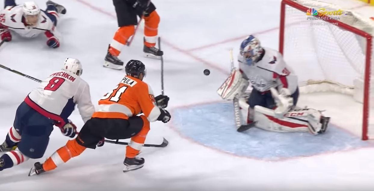 Video: Flyers murskasi Capitalsin - Filppula maalin makuun