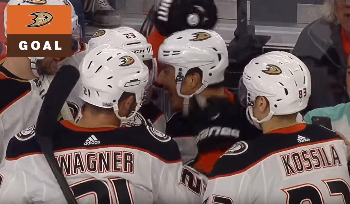 Anaheimin legendaarinen Mighty Ducks -paita tekee paluun.