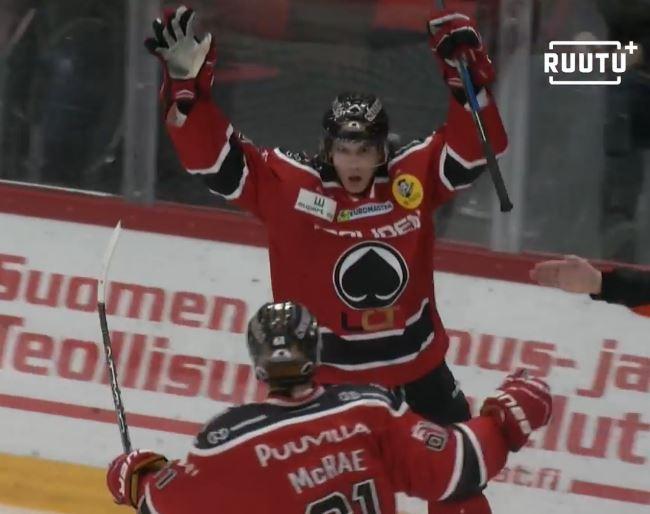 Ässien Ässät Antoine Laganiere Liiga / Laitataklaus.com