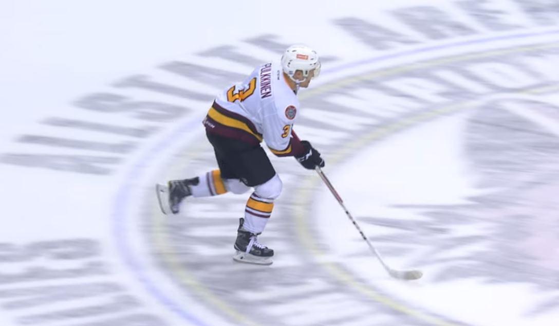 Video: Teemu Pulkkinen liekeissä AHL:ssä - osui kahdesti ja ratkaisi pelin