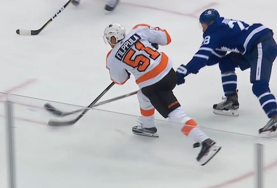 Video: Flyersin Filppula tykitti upean voittomaalin - jo kauden viides osuma