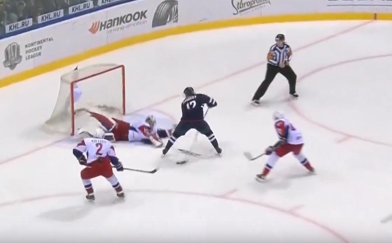 Video: Boris Sadecky kynäili maagisen uran ensimmäinen KHL-maalinsa