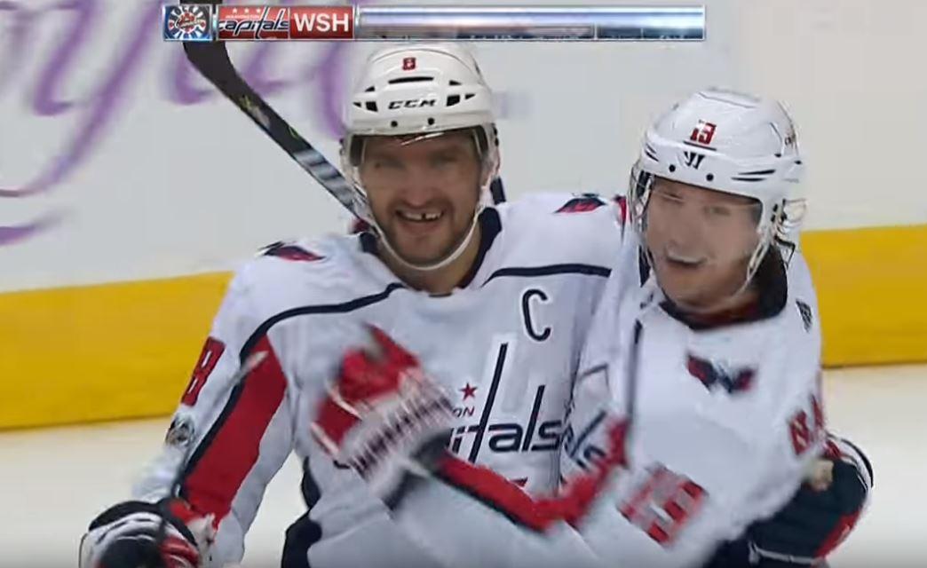 Video: Alexander Ovechkin tykitti uransa 20. hattutempun NHL:ssä