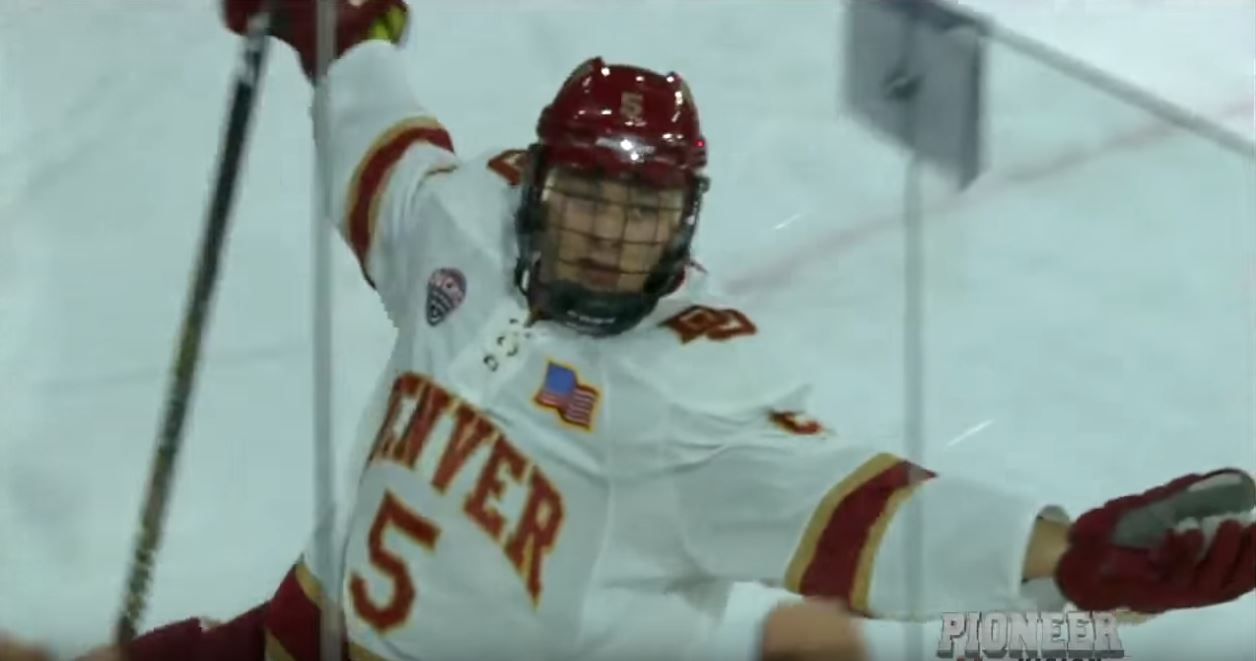 Video: Huippulupaus Henrik Borgström jäätävässä iskussa NCAA:ssa