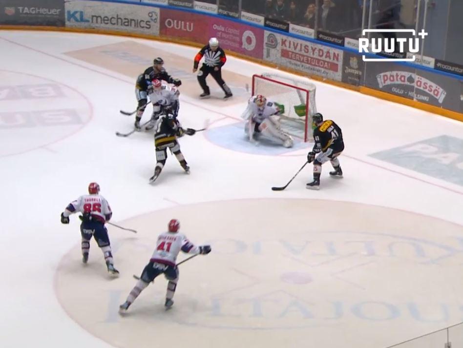 Video: Kärpät ja HIFK tarjosivat aivan järjettömän jännittävän jatkoajan